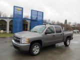 2008 Graystone Metallic Chevrolet Silverado 1500 LT Crew Cab 4x4 #45876423