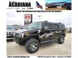 2003 Black Hummer H2 SUV #45876518