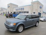 2010 Steel Blue Metallic Ford Flex SEL #45876559