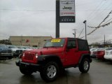 2011 Flame Red Jeep Wrangler Sport S 4x4 #45876576