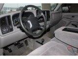 2000 Chevrolet Silverado 1500 LS Extended Cab 4x4 Medium Gray Interior