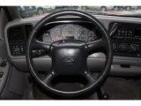 2000 Chevrolet Silverado 1500 LS Extended Cab 4x4 Steering Wheel