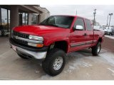 Victory Red Chevrolet Silverado 1500 in 2000