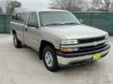 2001 Light Pewter Metallic Chevrolet Silverado 1500 LS Regular Cab 4x4 #45876595