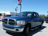 2006 Atlantic Blue Pearl Dodge Ram 1500 SLT Quad Cab #4560162