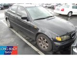 2002 Jet Black BMW 3 Series 325i Sedan #45876619