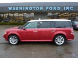 2010 Red Candy Metallic Ford Flex SEL EcoBoost AWD #45876737
