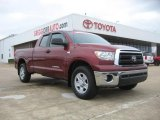2010 Salsa Red Pearl Toyota Tundra Double Cab #45876772