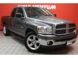 2008 Mineral Gray Metallic Dodge Ram 1500 Lone Star Edition Quad Cab #45876837