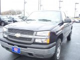 2005 Dark Blue Metallic Chevrolet Silverado 1500 LS Regular Cab 4x4 #45876838