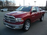 2011 Deep Cherry Red Crystal Pearl Dodge Ram 1500 Big Horn Quad Cab 4x4 #45877031