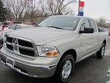2010 Light Graystone Pearl Dodge Ram 1500 SLT Quad Cab 4x4 #45877103