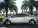 2007 Alabaster Silver Metallic Honda Civic EX Coupe #439883