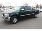 2001 GMC Sierra 1500 SLE Extended Cab 4x4 Front 3/4 View