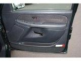 2001 GMC Sierra 1500 SLE Extended Cab 4x4 Door Panel