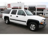 2001 Summit White Chevrolet Suburban 1500 LS #45954842