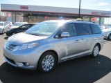 2011 Silver Sky Metallic Toyota Sienna Limited #45955273