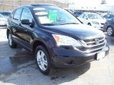 2010 Crystal Black Pearl Honda CR-V EX AWD #45955350