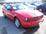 2006 Torch Red Ford Mustang V6 Premium Coupe #45955346