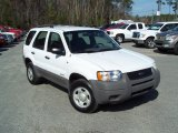 2001 Ford Escape Oxford White