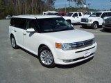2010 Ford Flex White Suede