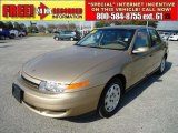 2001 Medium Gold Saturn L Series L200 Sedan #45955538