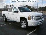 2011 Summit White Chevrolet Silverado 1500 LT Crew Cab #45955552