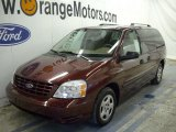 2007 Dark Toreador Red Metallic Ford Freestar SE #46031979