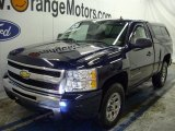 2009 Imperial Blue Metallic Chevrolet Silverado 1500 LS Regular Cab 4x4 #46031980