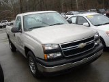 2006 Silver Birch Metallic Chevrolet Silverado 1500 Work Truck Regular Cab #46037993