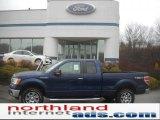 2011 Dark Blue Pearl Metallic Ford F150 XLT SuperCab 4x4 #46038030