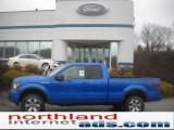 2011 Blue Flame Metallic Ford F150 FX4 SuperCab 4x4 #46038029