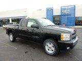 2011 Black Chevrolet Silverado 1500 LT Extended Cab 4x4 #46038361