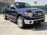 2011 Dark Blue Pearl Metallic Ford F150 Lariat SuperCrew 4x4 #46038451