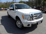 2010 Oxford White Ford F150 Lariat SuperCab 4x4 #46038487