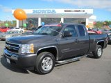 2010 Taupe Gray Metallic Chevrolet Silverado 1500 LT Extended Cab #46038540