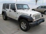 2007 Jeep Wrangler Unlimited Stone White