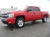 2011 Victory Red Chevrolet Silverado 1500 LT Crew Cab 4x4 #46038562