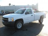 2009 Summit White Chevrolet Silverado 1500 Regular Cab #46038572