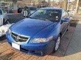 2005 Arctic Blue Pearl Acura TSX Sedan #46038573