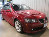 2009 Sport Red Metallic Pontiac G8 GT #46038603