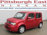 2009 Scarlet Red Nissan Cube 1.8 S #46038600