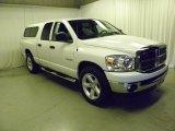 2008 Bright White Dodge Ram 1500 Big Horn Edition Quad Cab #46038612
