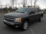 2010 Taupe Gray Metallic Chevrolet Silverado 1500 LT Extended Cab 4x4 #46038716