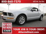 2006 Satin Silver Metallic Ford Mustang V6 Premium Coupe #46038843