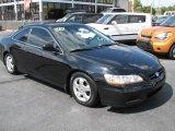 2002 Nighthawk Black Pearl Honda Accord EX Coupe #46038871