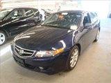 2008 Royal Blue Pearl Acura TSX Sedan #46068475