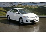 2011 Super White Toyota Corolla LE #46069452