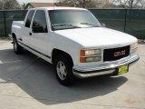 1997 Olympic White GMC Sierra 1500 SLE Extended Cab #46070058