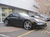 2008 Black Porsche 911 Carrera 4S Coupe #46070405
